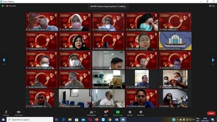 KPP Pratama Tangerang Barat Berikan Apresiasi kepada 50 Perusahaan Penyetor Pajak Terbesar 2020