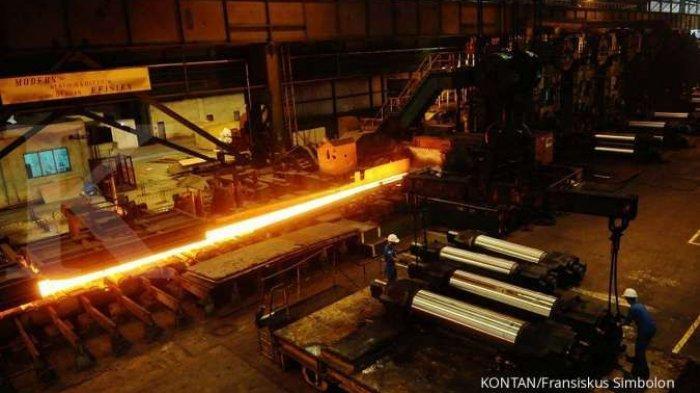 Pabrik Baru Beroperasi, Kapasitas Produksi HRC Krakatau Steel Bisa Mencapai 3,9 Juta Ton per Tahun