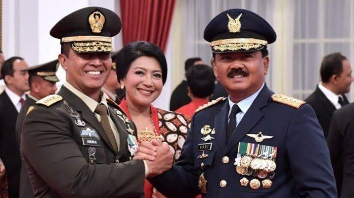 Profil KASAD Jenderal TNI Andika Perkasa, Sosok Cerdas dan Berprestasi Pimpinan Prajurit AD