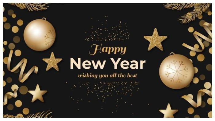 Unduh Gambar Ucapan Selamat Tahun Baru 2021, Untuk Status di Medsos dan ke Grup WhatsApp