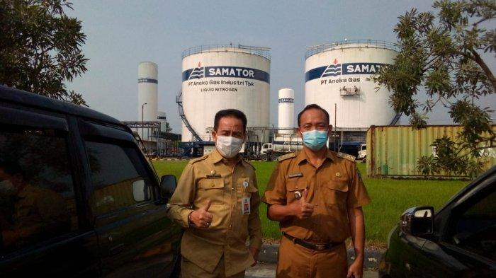 Forkopimda dan Satgas Covid-19 Kabupaten Serang Meninjau PT Samator Gas, Pastikan Stok Oksigen Aman