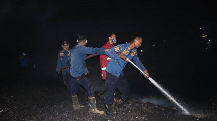 Lagi, Kebakaran Lahan Kosong di Cilegon Diduga Karena Bakar Sampah