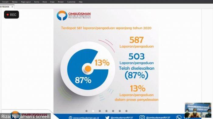 Ombudsman RI Perwakilan Banten Terima 212 Laporan Dugaan Penyelewengan Bansos, Buka Posko Pengaduan