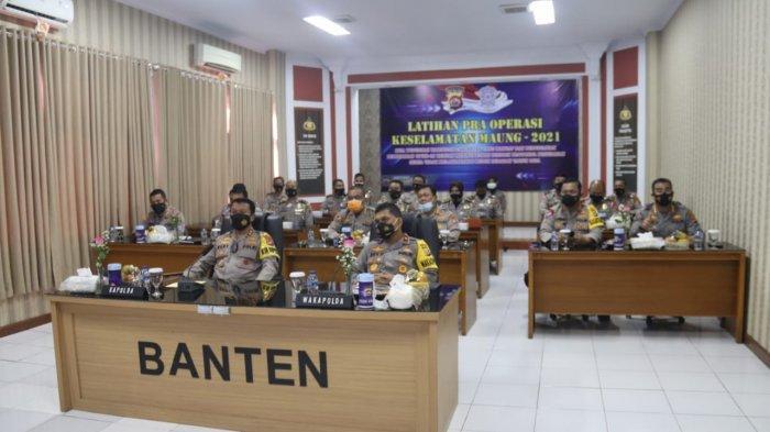Polda Banten dan Polres Jajaran Gelar Operasi Keselamatan Maung 2021 Serentak pada 12-25 April