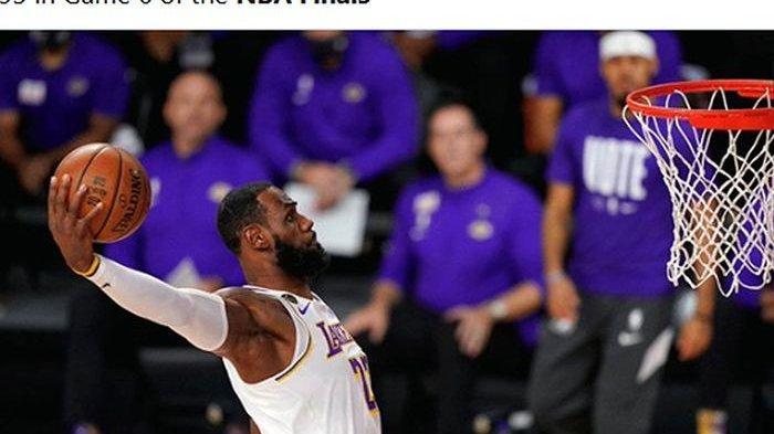 LA Lakers Raih Gelar Juara NBA 2020, Gelar Pertama Sejak 10 Tahun