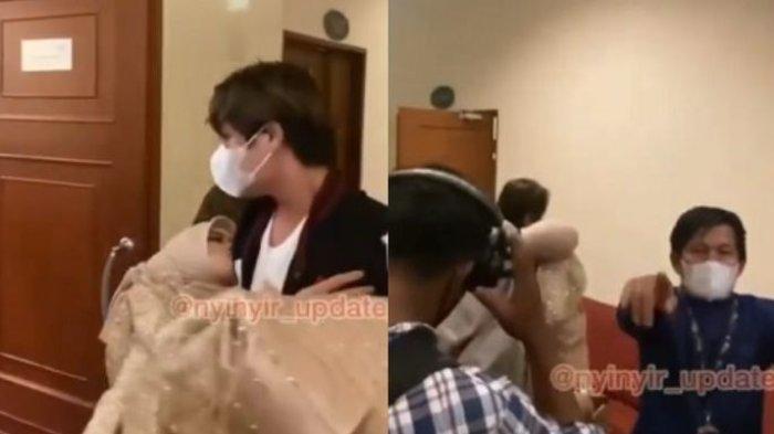 Beredar Video Lesti Kejora Tiba-tiba Pingsan saat Manggung hingga Digendong Rizky Billar, Ada Apa?