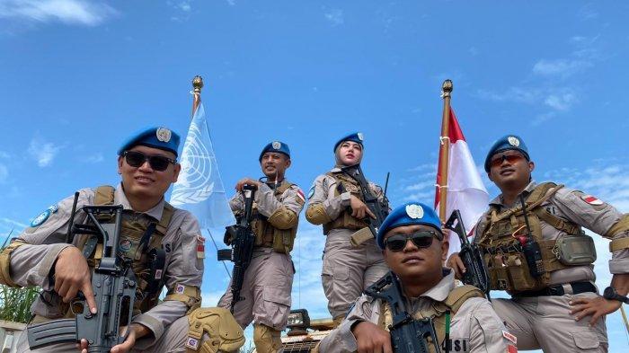 5 Personel Polda Banten Jalankan Misi Perdamaian di Afrika, Kemampuan Intelijen hingga Jinakkan Bom