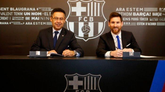 Pernyataan Lengkap Lionel Messi soal Alasannya Bertahan di Barcelona Hingga Keluarganya Menangis