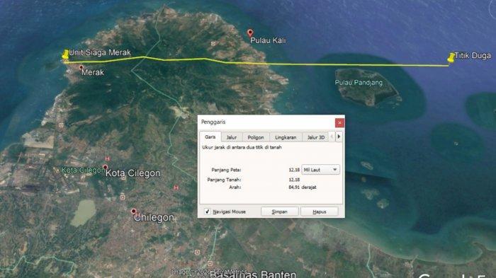 2 Kapal Tabrakan di Perairan Pulau Panjang, Kehilangan Keseimbangan Lalu Tenggelam, 1 Nakhoda Hilang