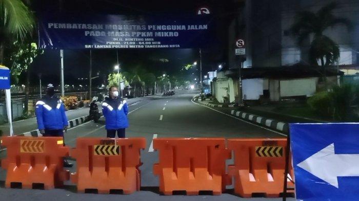 Lampu Jalan Dimatikan Selama PPKM Darurat di Kota Tangerang, Berikut Lokasi dan Jadwal Pemadaman