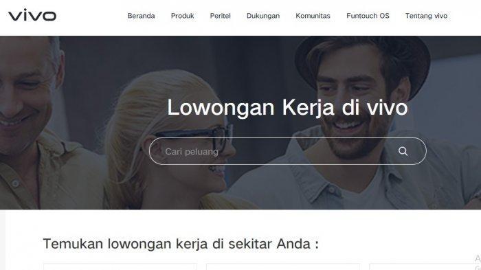 Lowongan Kerja Banten: PT Vivo Mobile Indonesia Buka Sejumlah Posisi, Ini Syarat dan Link Daftarnya