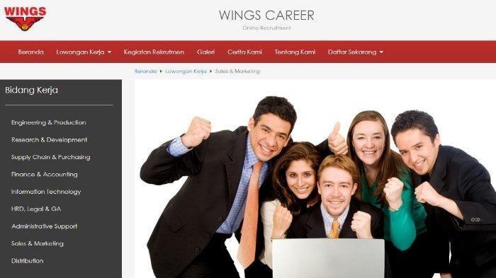 Lowongan Kerja Wings Group September 2021, Dibuka 10 Posisi untuk Lulusan D3 dan S1, Ini Syaratnya