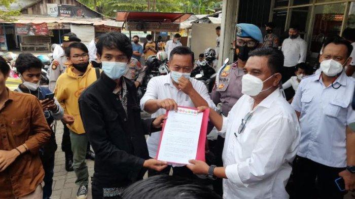 Polisi Cegah Mahasiswa yang Akan Menggelar Aksi di Polda Banten, Ini Alasannya