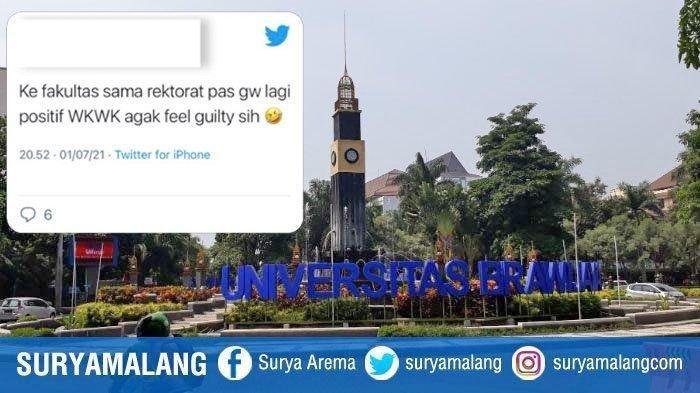 Fakta Mahasiswi UB Malang Nekat ke Kampus saat Terpapar Covid-19, Dekan: Nggak Benar Itu