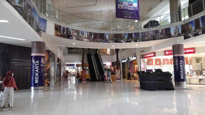 Banyak Gerai di Mall of Serang Masih Tutup Meski Jam Operasional sampai Jam 8 Malam