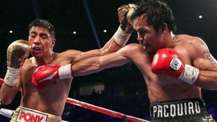 Link Live Streaming Duel Tinju, Manny Pacquiao vs Yordenis Ugas, Dendam Pelengseran Sabuk Pacman