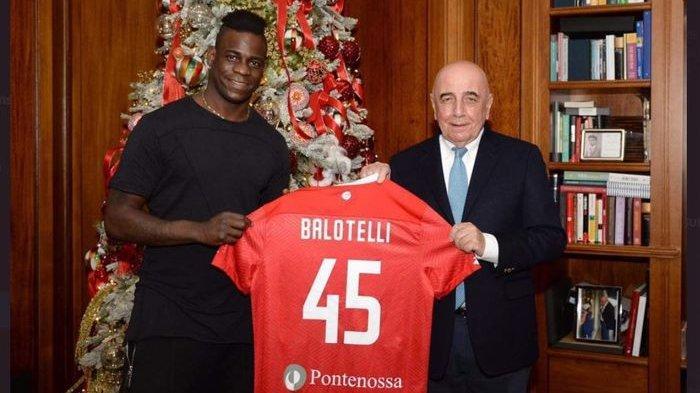 Nganggur 6 Bulan, Mario Balotelli Gabung ke Klub Kasta Kedua Liga Italia, AC Milan 'KW'