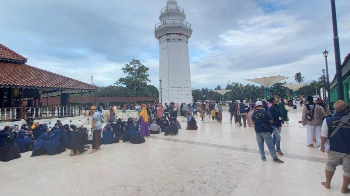 Spot-spot Instagramable di Masjid Agung Banten, Jadi Daya Tarik Pengunjung untuk Selfie
