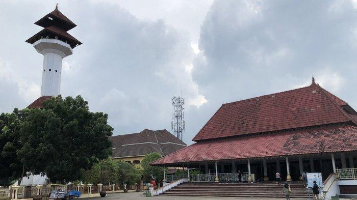 Masjid Agung Ats-Tsauroh Serang Gelar Aktivitas Ibadah Ramadan Terbatas