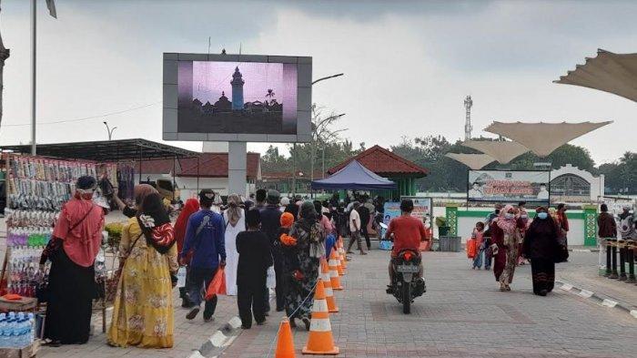 Kawasan Wisata Banten Lama Kembali Dibuka, Rindu Para Peziarah Terobati
