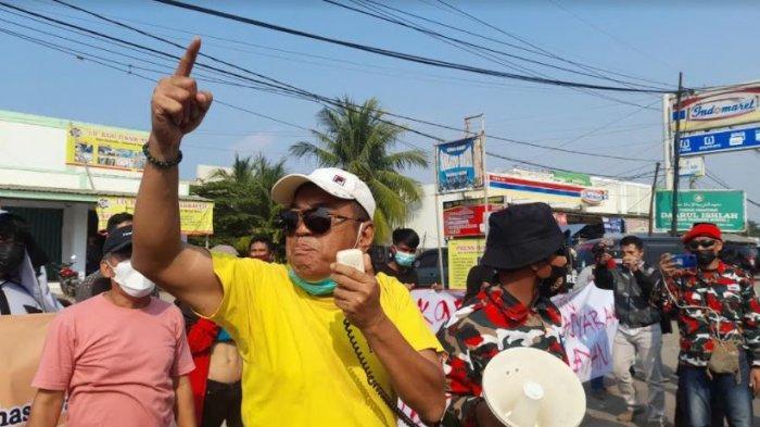 Warga Kramatwatu Gelar Demo, Minta 3 Nelayan dari Desa Terate Dibebaskan