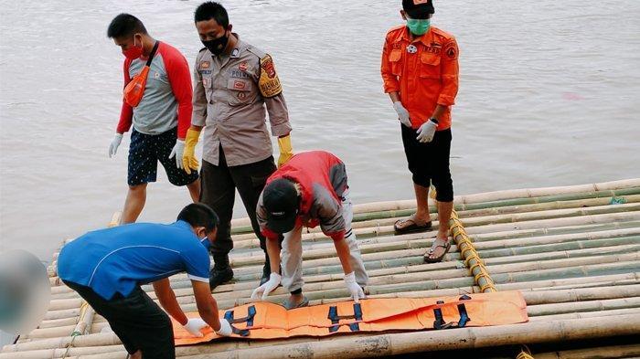 Lagi Mancing di Sungai Ciujung, Warga Lebak Kaget Temukan Mayat Mengambang