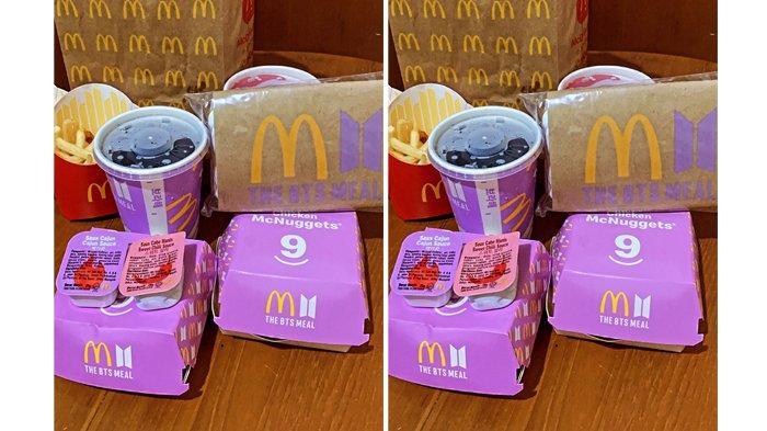 Driver Ojol Membludak di Berbagai McDonalds Indonesia Hari Ini, Berikut Fakta-fakta Paket BTS Meal