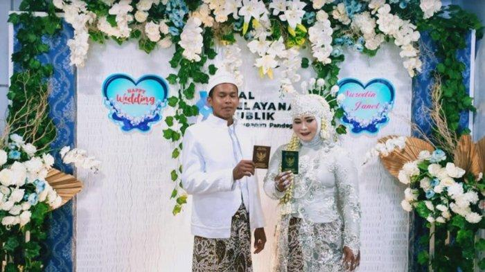 Kisah Pasutri Menikah Gratis di MPP Pandeglang, Naik Mobil Dinas dan Dapat Voucher Bulan Madu