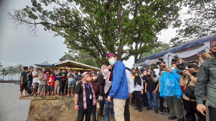 Dampingi Sandiaga Uno Saat Kunjungan ke Pandeglang, Irna Narulita Ucap Permintaan Ini