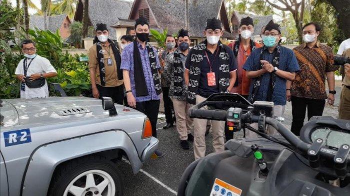 Genjot Pariwisata ke Tanjung Lesung, Kemenparekraf Pastikan 2022 Jalan Tol Sudah Dibangun