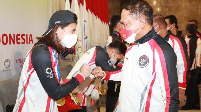 Rombongan Terakhir Tim Indonesia di Olimpiade Tokyo Tiba di Jakarta, Kepala Kontingen: Semua Sehat