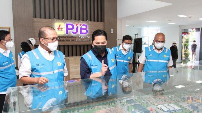 Menteri BUMN Apresiasi PLN yang Siap Memproduksi 2 Ton Oksigen per Hari Bantu Penanganan Covid-19