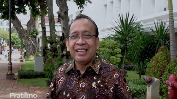 Menteri Sekretaris Negara, Pratikno. Mensesneg Pratikno menyebut Istana tidak perlu menjawab surat AHY kepada Presiden Jokowi soal isu kudeta di Partai Demokrat.