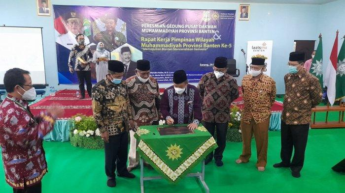 Wali Kota Serang: Gedung Pusat Muhammadiyah Bermanfaat untuk Pendidikan dan Syiar Agama di Banten