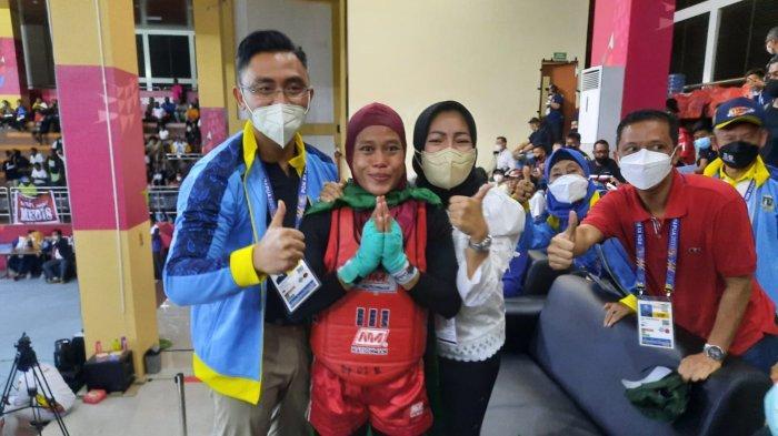 Sumbang Emas Pertama Bagi Banten di PON XX Papua, Bupati Serang Siapkan Bonus untuk Mia Amalia