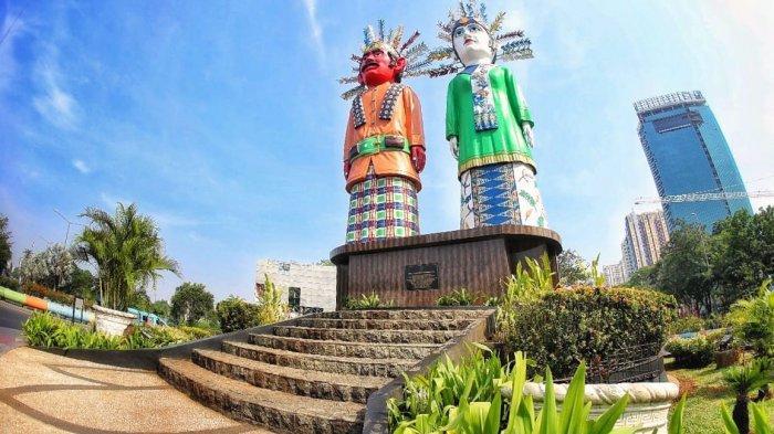 Kemegahan Monumen Ondel-Ondel Sebagai Ikon Kota