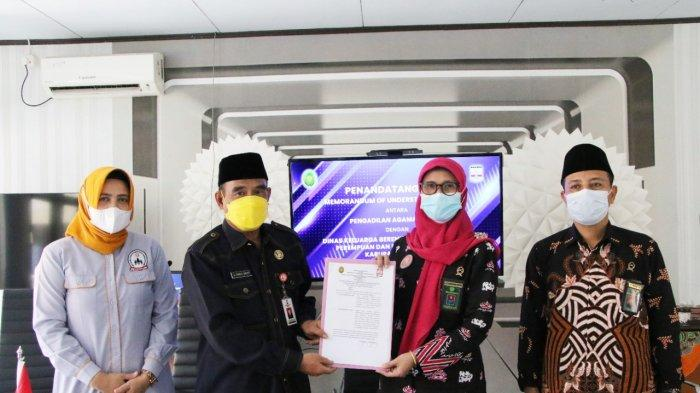 Pengadilan Agama Serang-DKBP3A Kabupaten Serang Kerja Sama Berikan Konseling soal Perkawinan