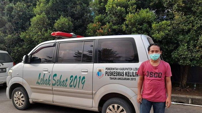 Kisah Sopir Ambulans RS dr Adjidarmo Lebak, Bolak-balik Jemput Pasien Covid-19 sampai Takut Pulang