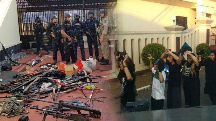 Narapidana terorisme menyerahkan diri setelah kerusuhan dan penyanderaan di Rutan Mako Brimob