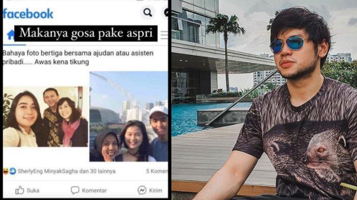 Foto Ahok, Puput dan Veronica Disandingkan dengan Foto Kaesang, Felicia dan Nadya, Ini kata Nicholas