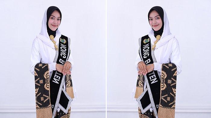 Profil Vina Hikmatul Huda, Duta Pariwisata Wakil 1 Nong Kabupaten Serang yang Mahir Baca Puisi