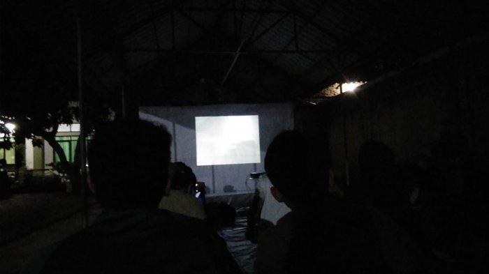 Aksi Solidaritas Terhadap Pegawai KPK 'Korban TWK', BEM Serang Raya Gelar Nobar Film the EndGame