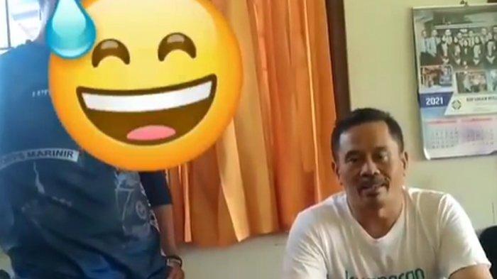 Nurhadi Capres Fiktif Posting Kalimat Tak Pantas Soal KRI Nanggala, Didatangi Pria Berbaju Marinir