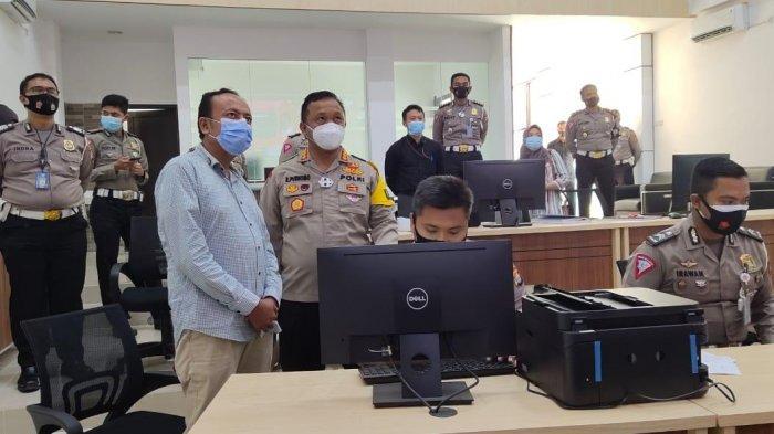Ombudsman Banten Pantau Kesiapan Penerapan ETLE Polda Banten di Kota Serang