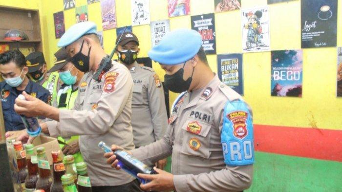 Polres Serang Kota Gelar Operasi Bina Maung 2021, Amankan 39 Minuman Keras Hingga Ada yang Oplosan