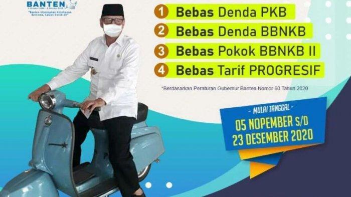 14 Provinsi, termasuk Banten, Masih Bebas Denda Pajak Kendaraan hingga Akhir Desember 2020