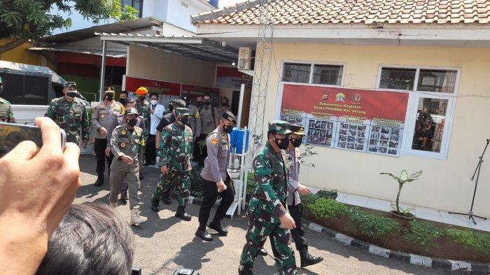 Panglima TNI dan Kapolri Tanyakan Ketersediaan Obat dan Dokter kepada Pasien Isoman di Kota Serang