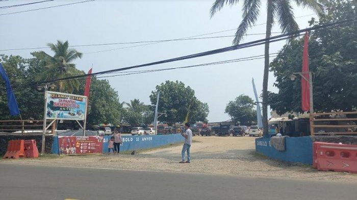 Hindari Kerumunan Pengunjung, Pengelola Pantai Anyer Sambolo Dua Berlakukan Sistem Rolling