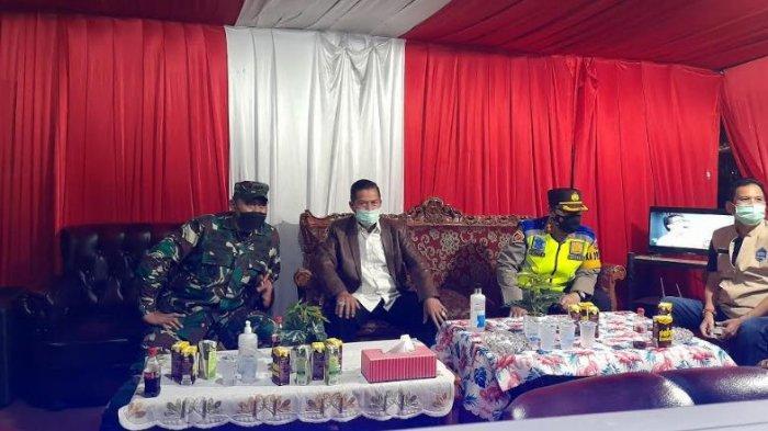 Wali Kota Serang, Syafrudin bersama Forkopimda Kota Serang melakukan pengecekan di pos-pos penyekatan pemudik, Senin (10/5/2021)