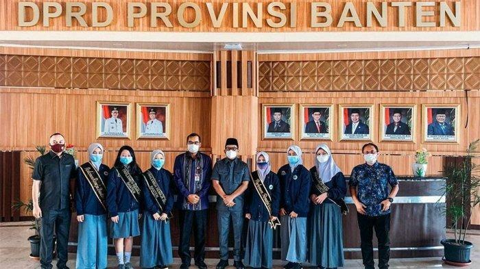 Cerita Seru Peserta Parlemen Remaja 2021 Perwakilan Banten, Saling Adu Argumen Saat Rapat Paripurna
